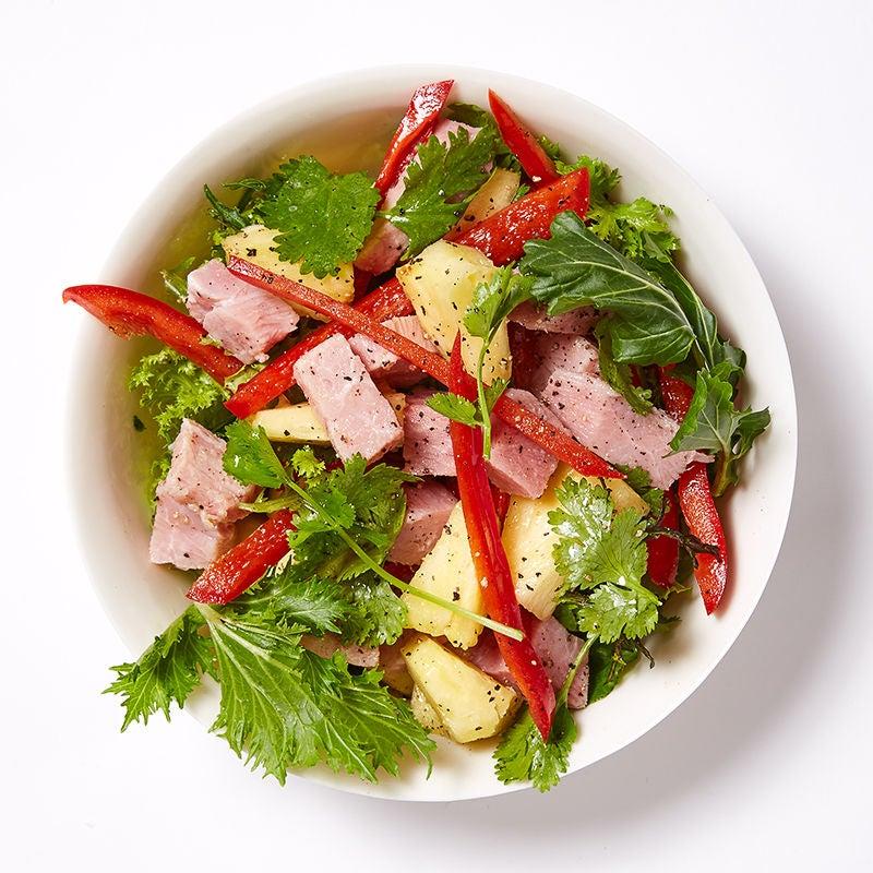Photo de Salade au jambon et aux ananas par WW