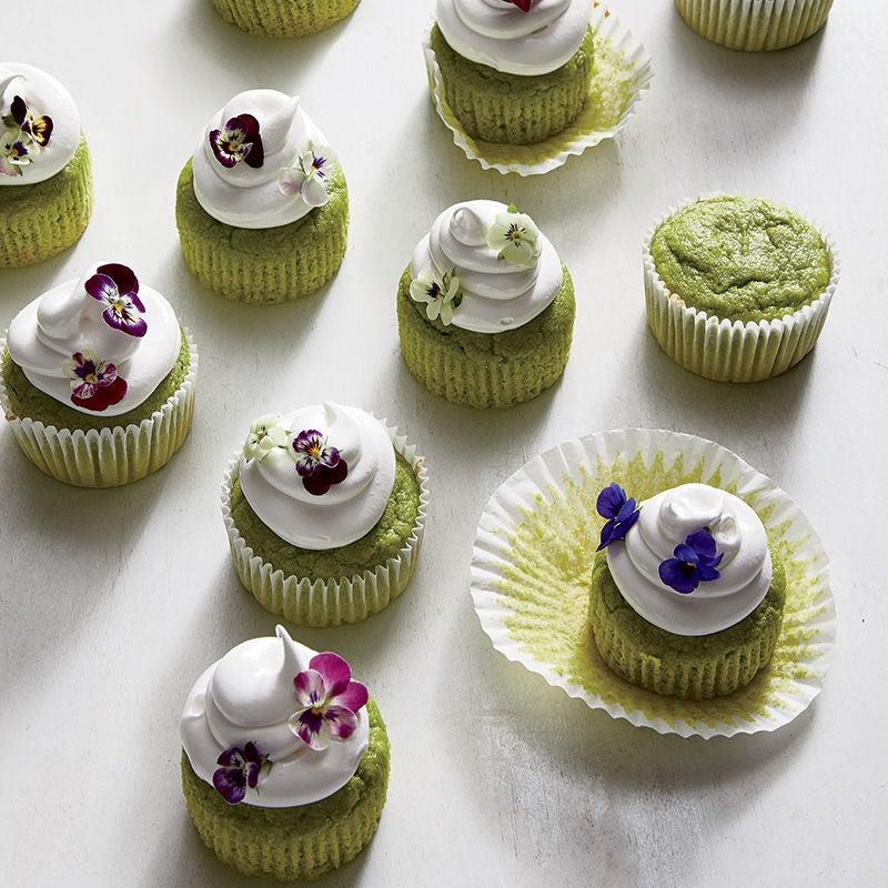 Photo de Petits gâteaux aux petits pois avec glaçage à la meringue suisse par WW