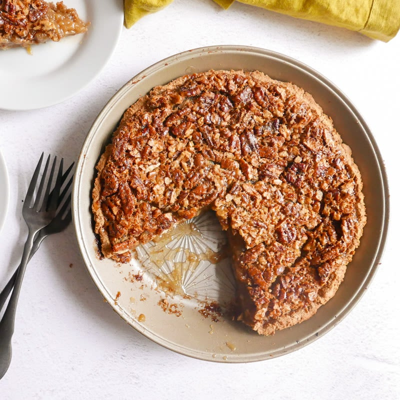 Photo of Pecan pie with chickpea crust by WW