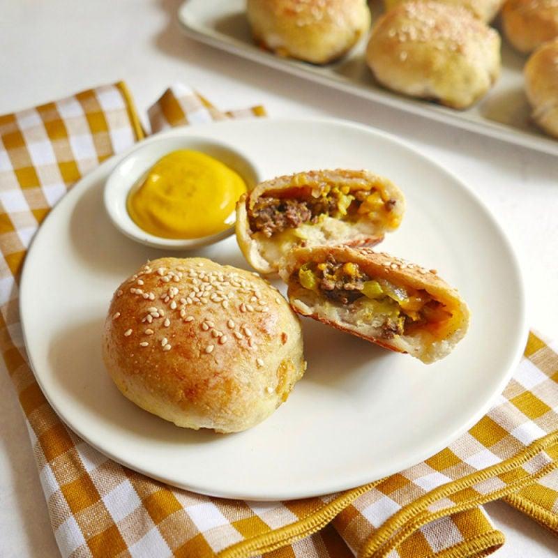 Photo de Bombes-hamburgers au fromage par WW