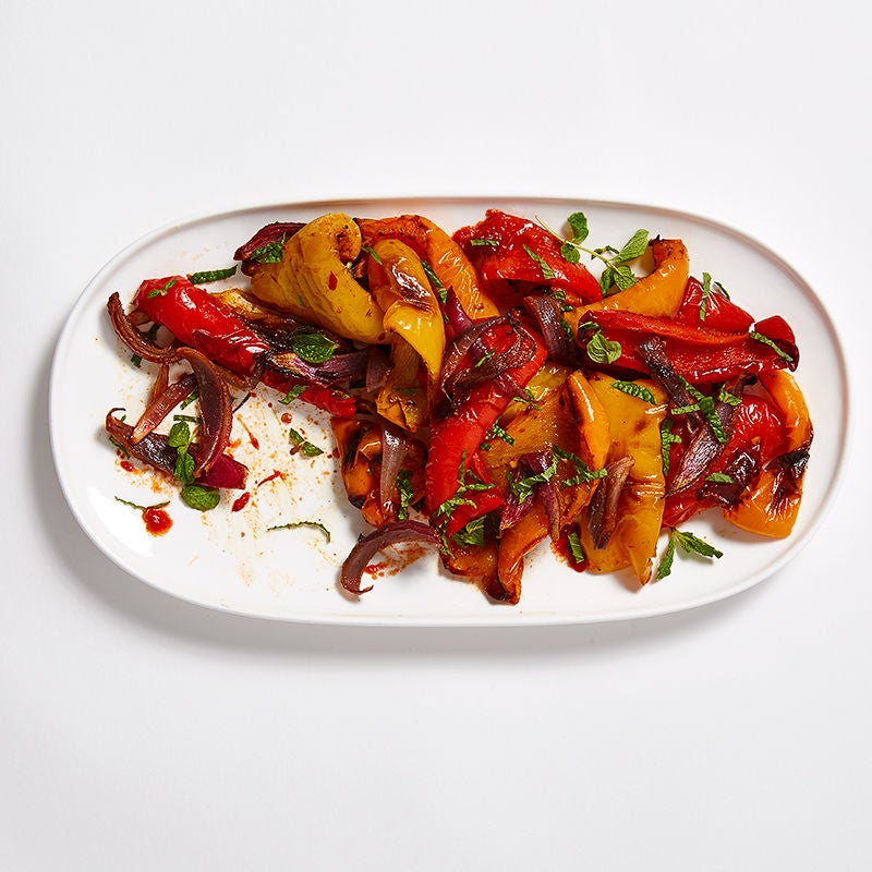Photo of Tricolour Moroccan Peppers and Onions by WW