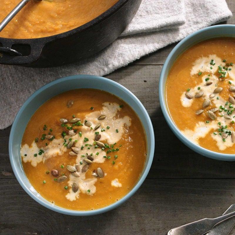 Photo of Pumpkin Sage Soup by WW