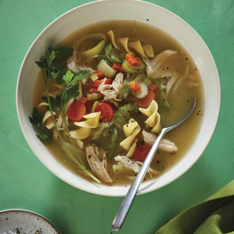 Photo of Old-fashioned slow cooker chicken noodle soup by WW