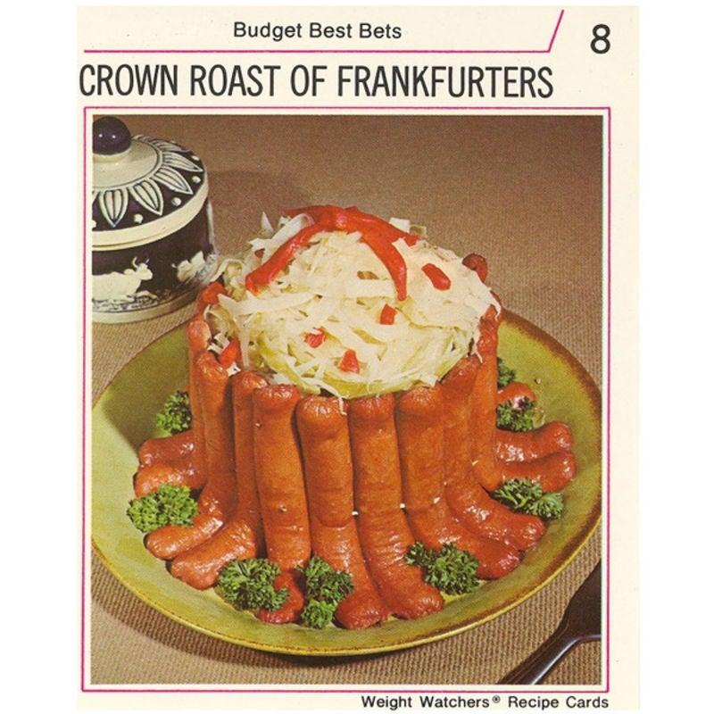 Photo de Couronne de saucisses fumées par WW