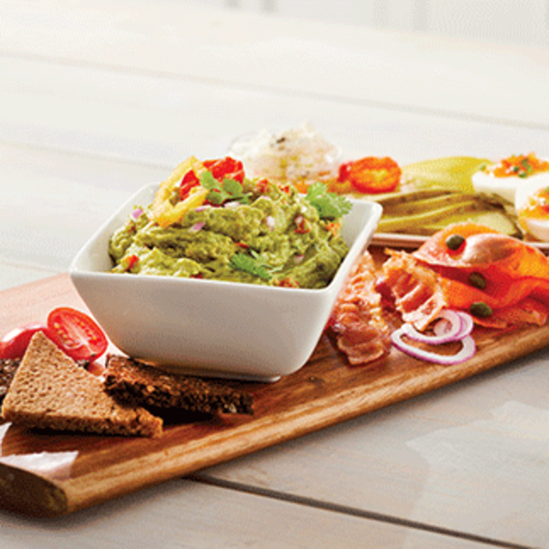 Photo of Hot pepper avocado toast platter - dip recipe by WW