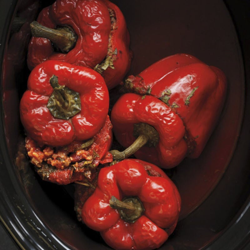 Photo of Rice-and-bean stuffed peppers by WW