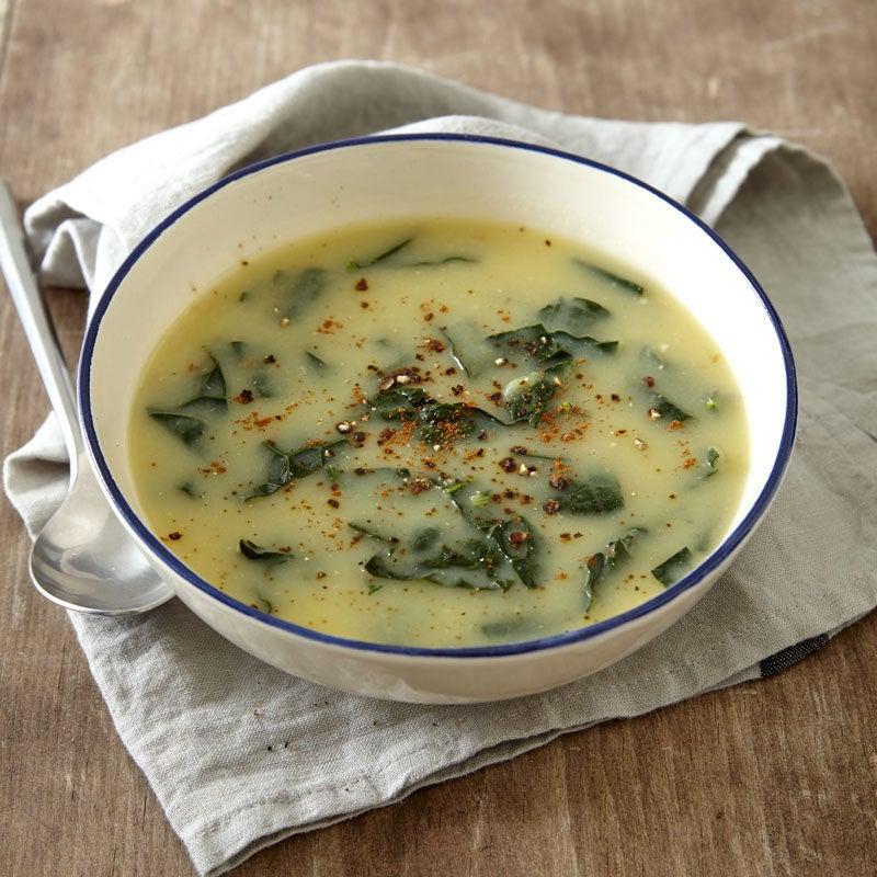 Photo of Potato-kale soup by WW