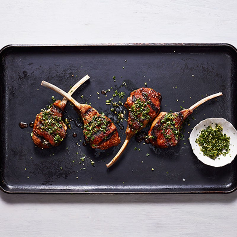 Photo of Spiced Lamb Chops with Gremolata by WW