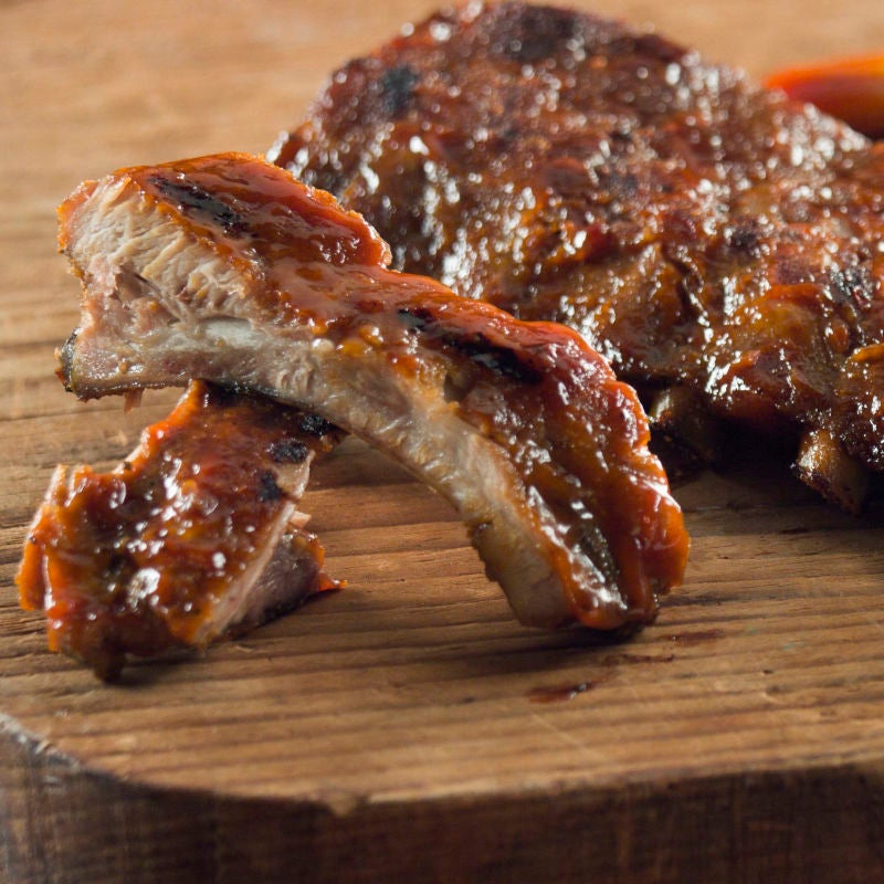 Photo of Dry rub BBQ ribs by WW