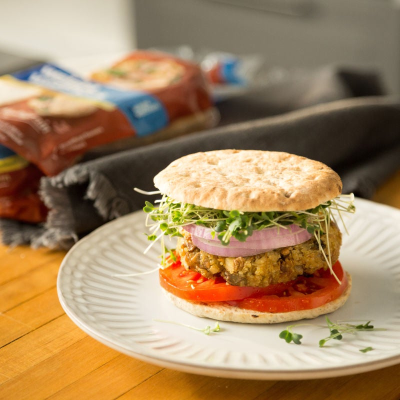 Photo of Quinoa and lentil burgers by WW