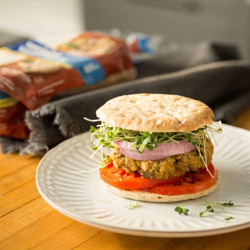 Photo de Hamburgers au quinoa et aux lentilles par WW