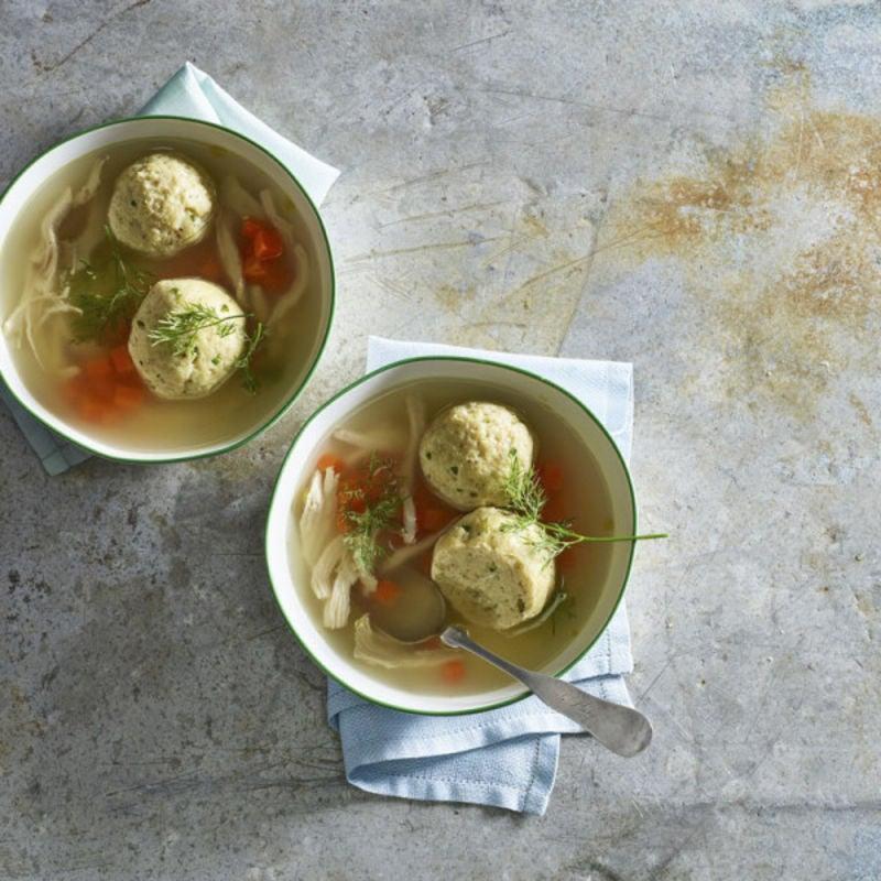 Photo de Soupe aux boulettes de matzo par WW
