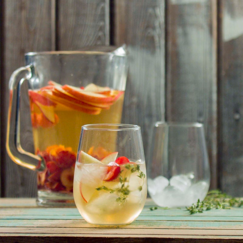 Photo of Cherry and thyme sangria by WW