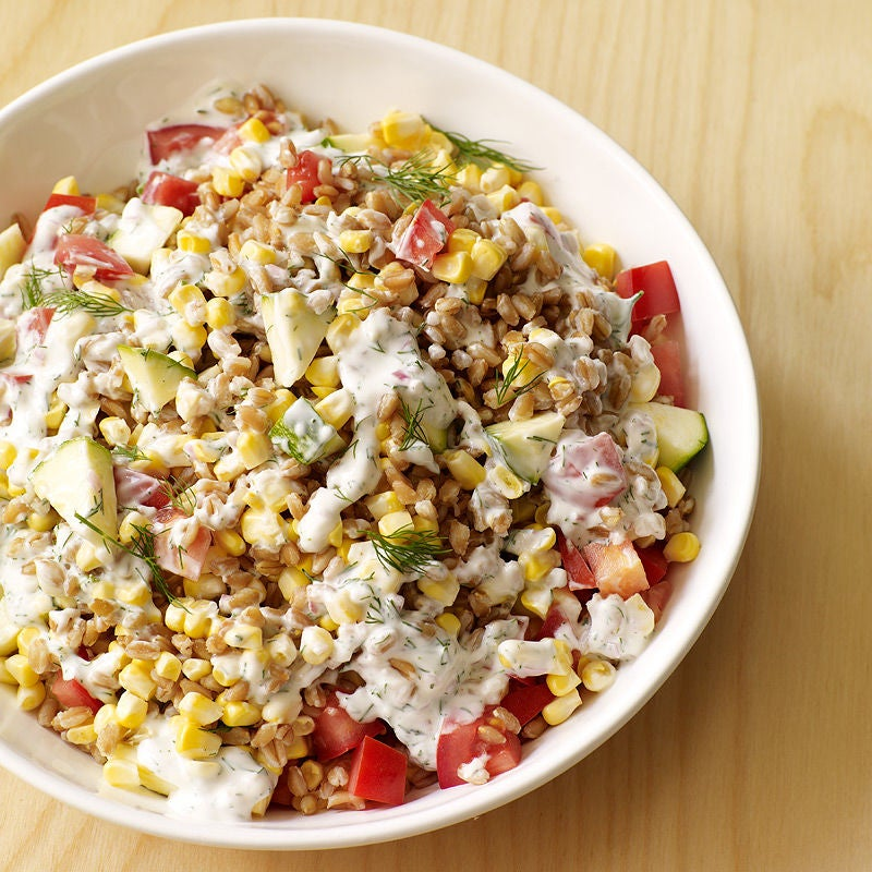 Photo of Summer vegetable and farro salad by WW