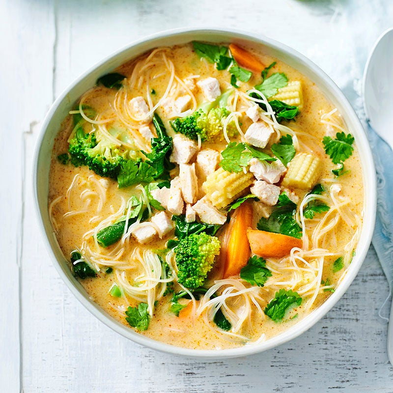 Photo of Thai chicken and coconut soup by WW
