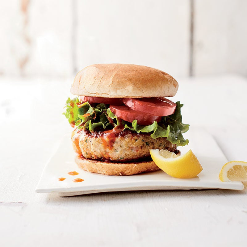 Photo de Hamburgers aux crevettes par WW