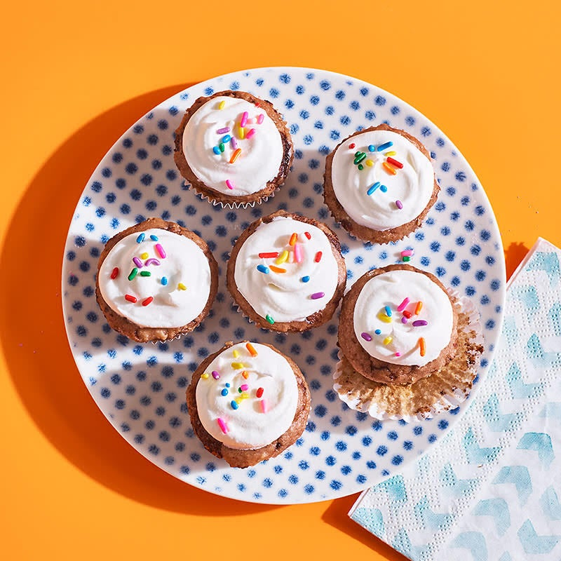 Photo of Two-ingredient dough ice cream cupcake bites by WW