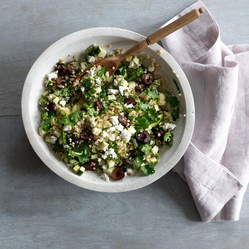 Photo de Salade de bulghur aux cerises et au feta par WW