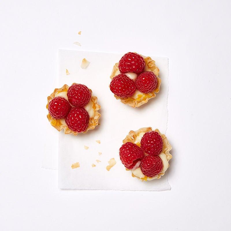 Photo of Raspberry, Orange and Cream Tartlets by WW