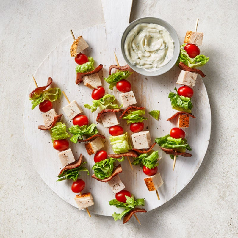 Photo de Brochettes de club à la dinde par WW