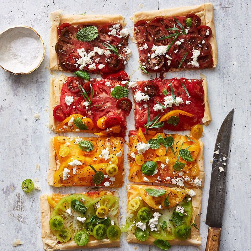 Photo of Tomato, Feta and Fresh Herb Tart by WW