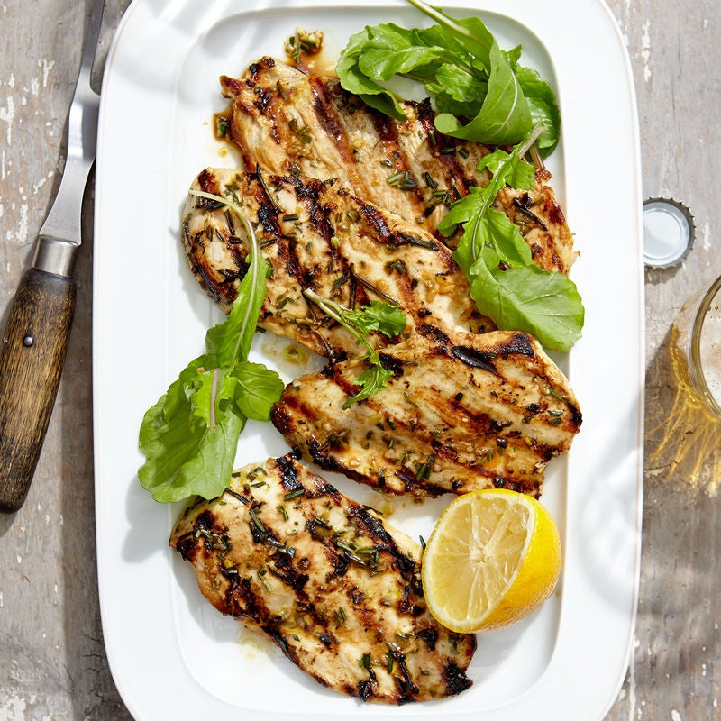 Photo of Rosemary-lemon chicken breasts by WW