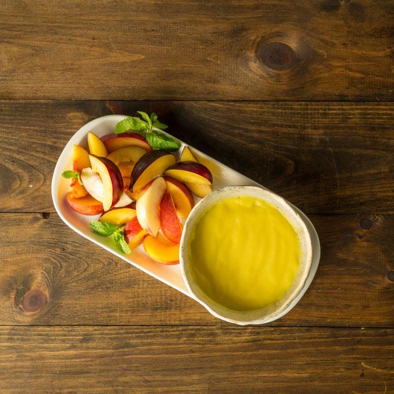 Photo de Trempette crémeuse au citron pour les fruits par WW