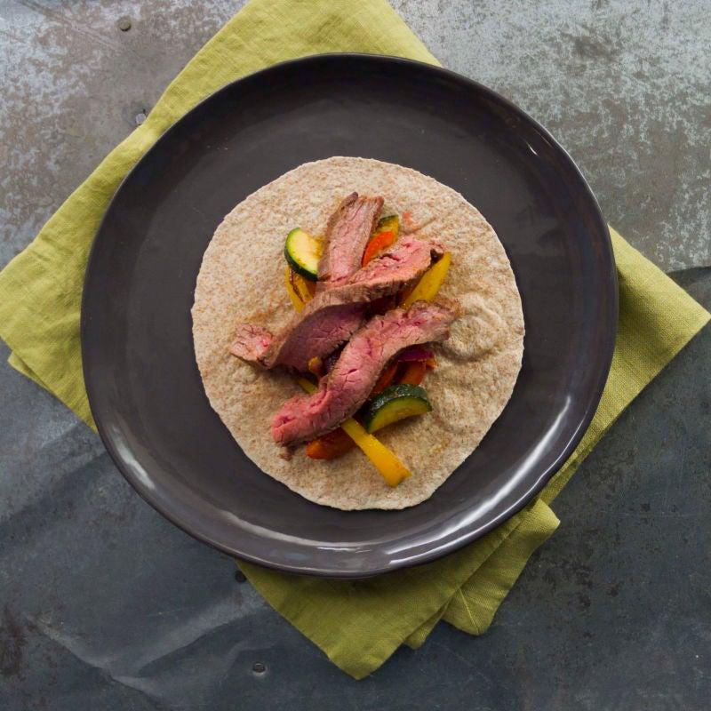 Photo de Fajitas au bifteck et au piment ancho grillés par WW