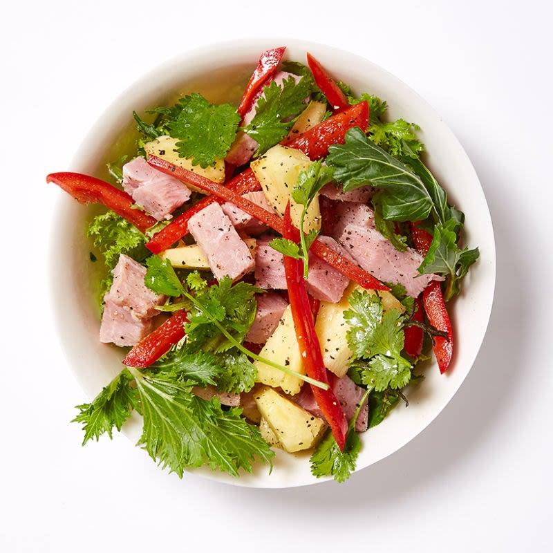 Photo de Salade de restes de jambon de Pâques et d'ananas par WW