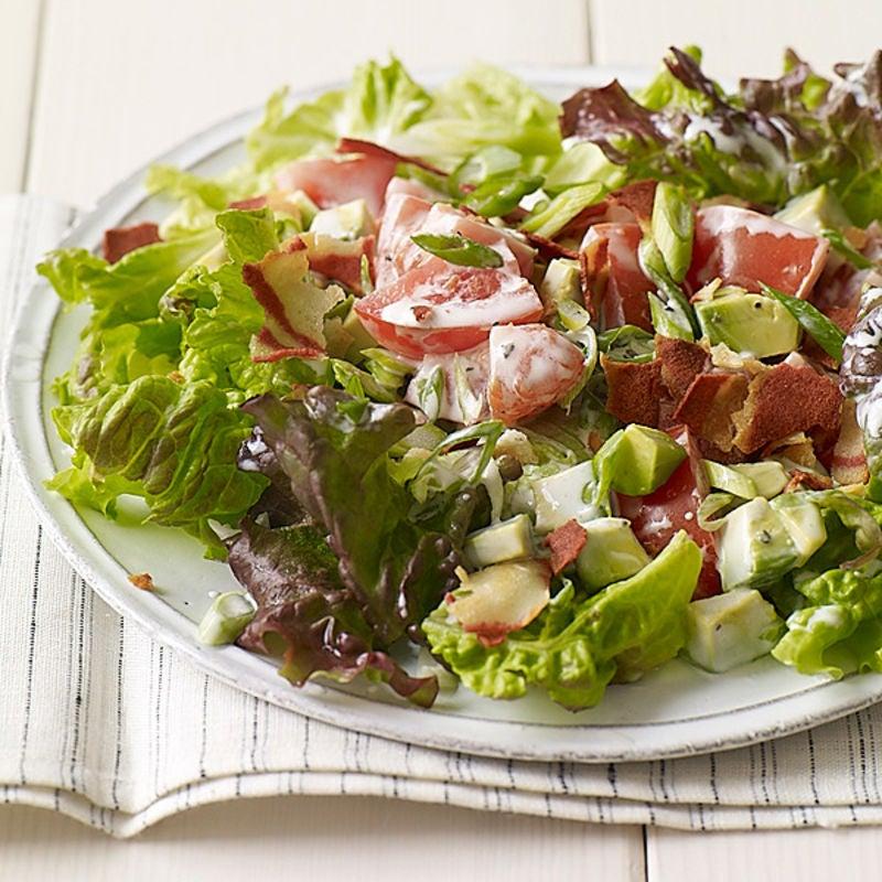 Photo of Vegetarian BLT salad by WW