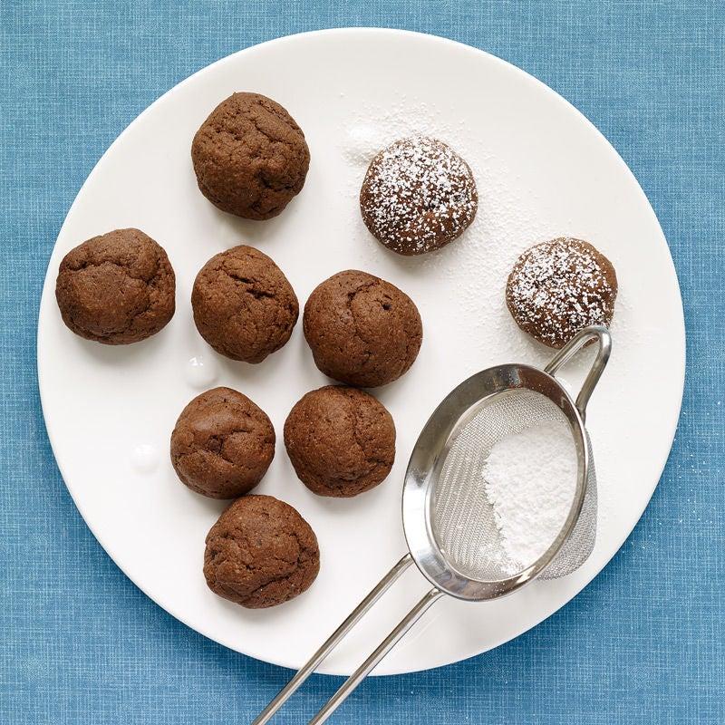 Photo de Bouchées de biscuits au chocolat fondant par WW