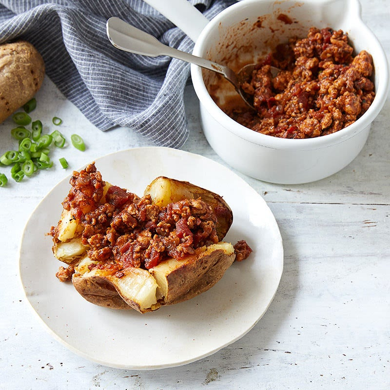 Photo of Turkey chili (for baked potatoes) by WW