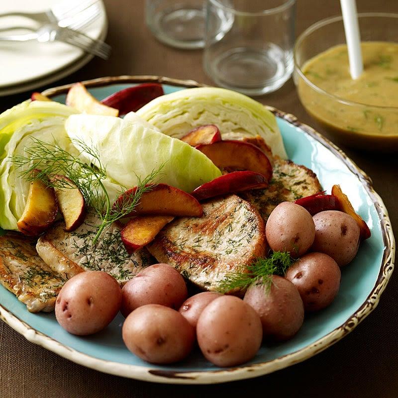 Photo de Côtelettes de porc avec sauce au cidre de pomme par WW