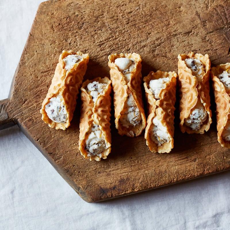 Photo de Cannolis de biscuit pizelle par WW