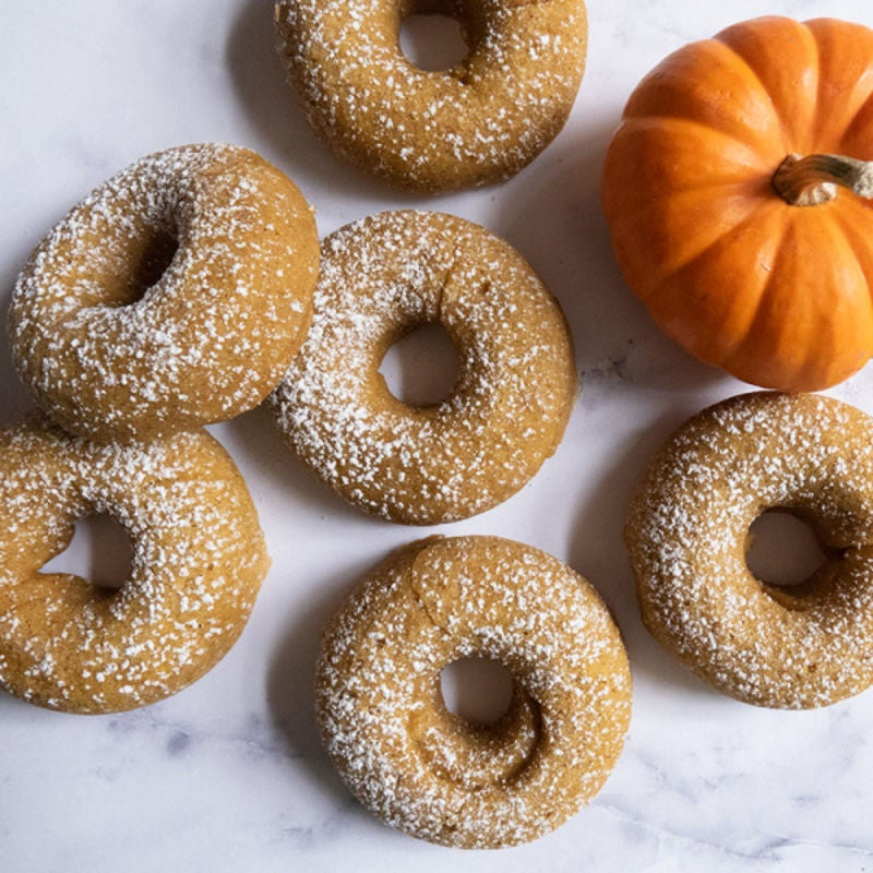 Photo of Baked pumpkin spice donuts by WW